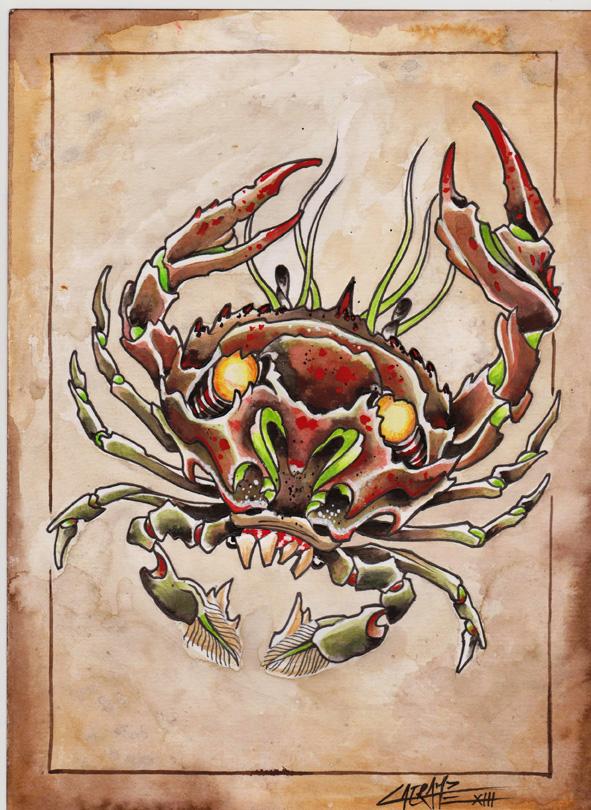 aquarelle sur papier - 21 x 29