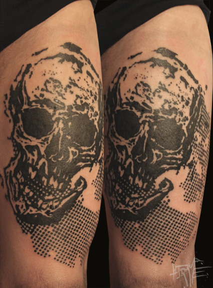 skull trame