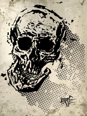 skulltrame sketch