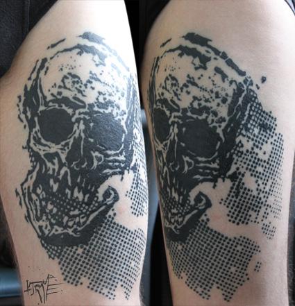 skull trame cicat