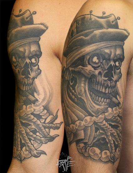 woodoo skull