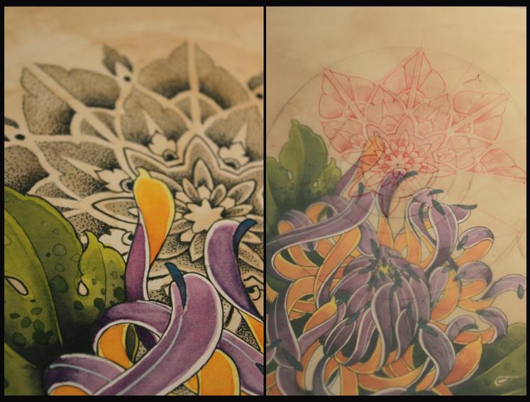 details chrysantheme