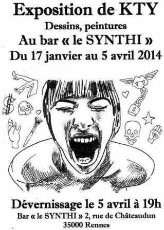affiche expo kty